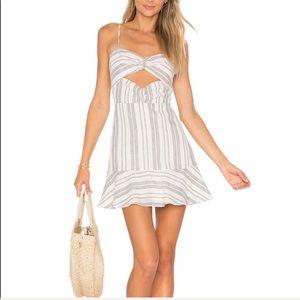 Dolce Vita Sierra Dress in Ivory & Midnight Stripe